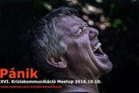 Kríziskommunikáció Meetup XVI. est